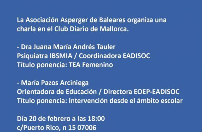 Charla en el club Diario de Mallorca