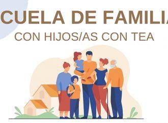 Escuela de familias con hijos/as con TEA 19 y 21 de Noviembre